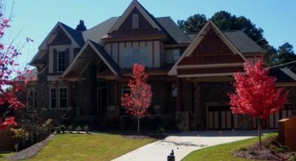 Johns Creek Custom Built Home Enclave On Johns Creek