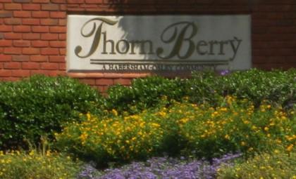 Entrance To ThornBerry North Fulton Georgia