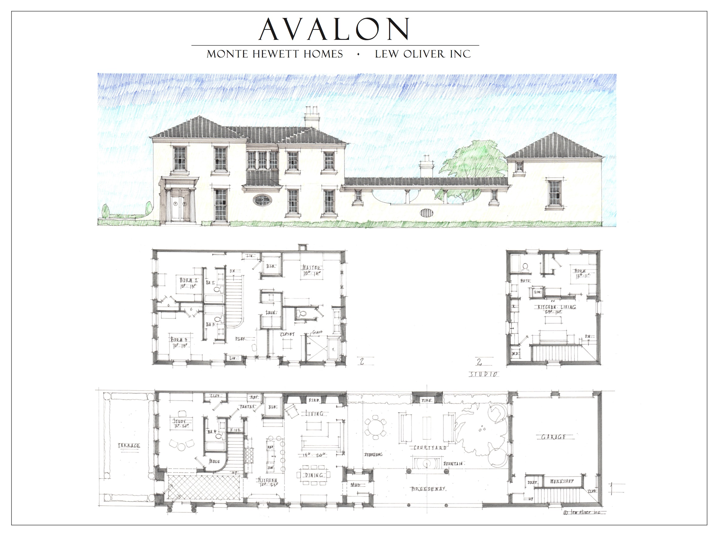 Live in avalon old milton parkway alpharetta monte hewett for House plans georgia