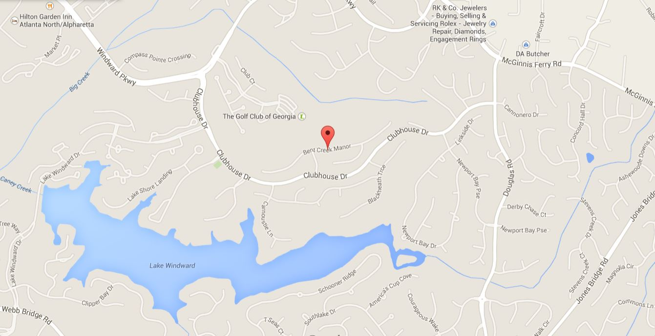 Windward Map Alpharetta Location