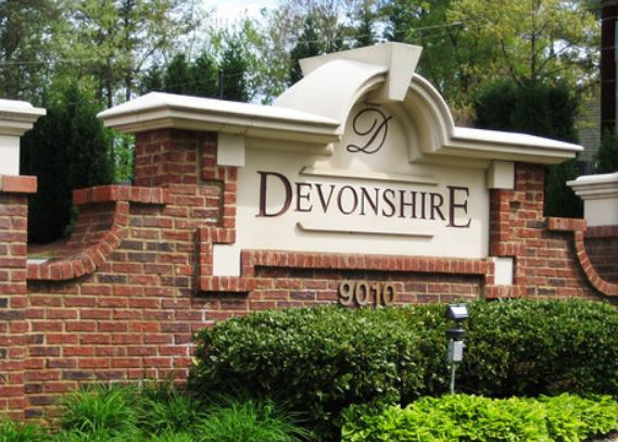 Townhome Entrance Devonshire