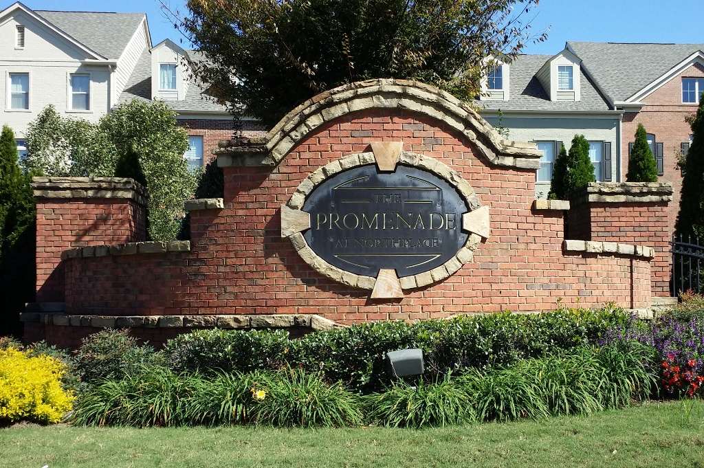 Sandy Springs Luxury Townhomes In Promenade At Northplace