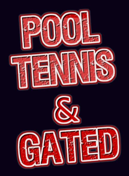 North Fulton Pool, Tennis, Gated