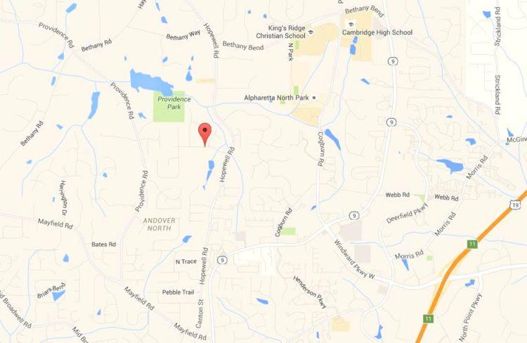 Brookshade Milton GA Neighborhood Location