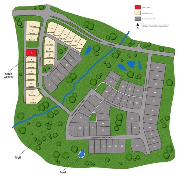 Kensley North Fulton Site Map