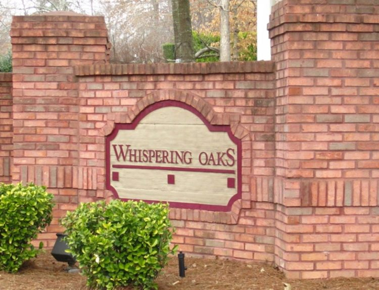 Alpharetta Homes Enclave Whispering Oaks Community